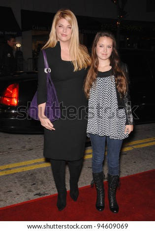 "Kirstie Alley & daughter Lillie Parker at the world premiere of ""Sydney White"" at Mann Bruin Theatre, Westwood, CA. September 21, 2007  Los Angeles, CA Picture: Paul Smith / Featureflash"