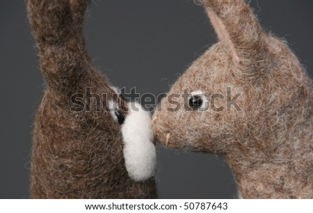 Kissing toys