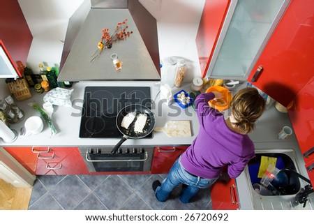 kitchen Stock foto ©