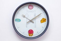 Kitchen clock. time