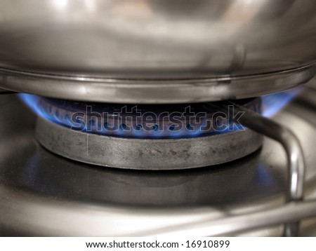 Kitchen cooker hob