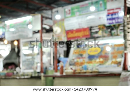 Kitchen counters for sale foods at canteen building