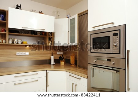 Kitchen in light colors #83422411