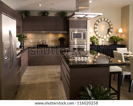 Kitchen Interior Design Architecture Stock Images,Photos of Living room, Bathroom,Kitchen,Bed room, Office, Interior photography.