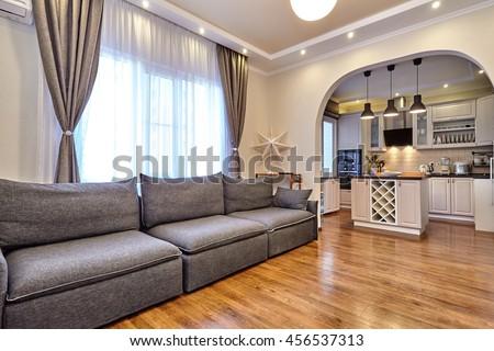 kitchen living room #456537313