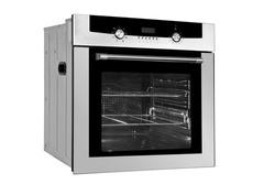 Kitchen oven on white background