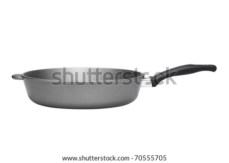 Kitchen pan isolated on white background