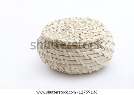 Kitchen straw containers on the table
