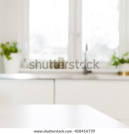 Kitchen surface background