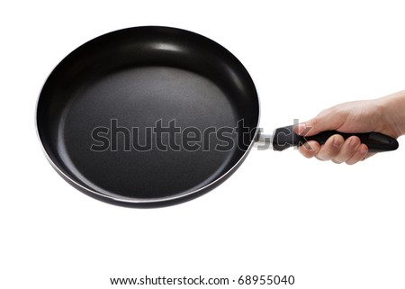 Kitchen utensil food cooking frying pan or griddle