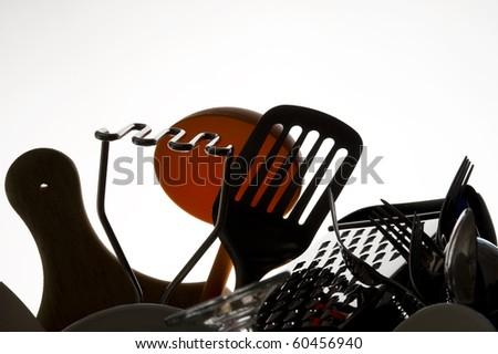 Kitchen utensil isolated on white background