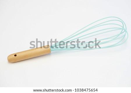 Kitchen Whisk on white background #1038475654