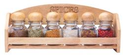 Kitchenware rack spices pepper herbs