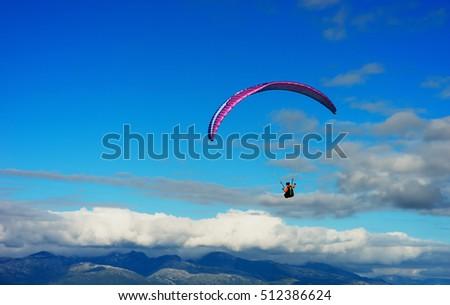 Shutterstock Kite flyer in the sky background hd