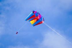kite in the sky, in Sweden Scandinavia North Europe