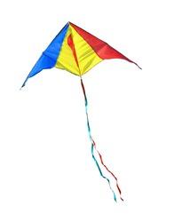 Kite on a white background