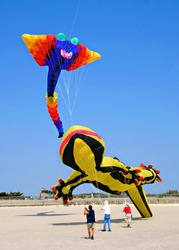 Kites  Festival at Rockaway Beach,Queens,New York