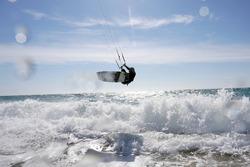 Kitesurf Kiteboarding Sea Beach Windsurf
