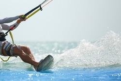 Kitesurfing, Kiteboarding themed action photos
