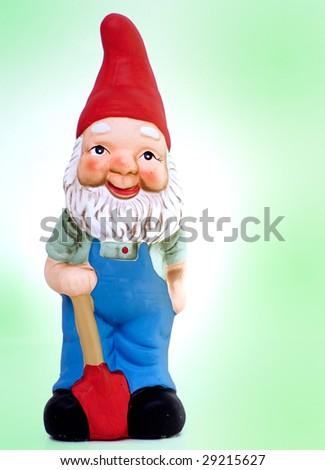 Kitsch Gnome Garden Statue