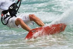 Kitsurfer