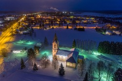 Kittila is a municipality of Finland and a popular holiday resort. Kittilan kirkko. Levi is ski resort in Finland