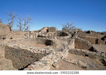Kiva in the pueblo of native americans Stock photo ©