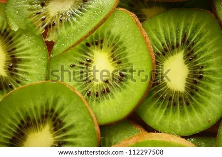 Kiwi slices background image
