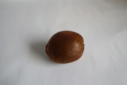 Kiwifruit or Chinese gooseberry is the edible berry of several species of woody vines in the genus Actinidia. The most common cultivar group of kiwifruit is oval, about the size of a large hen's egg: