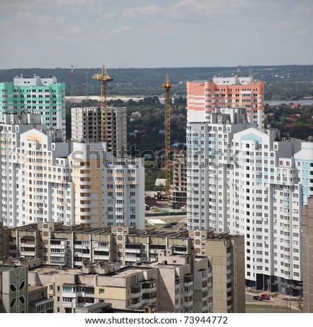 Kiyv, Ukraine, aerial view