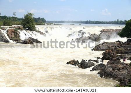 Klong-pa-peng waterfall travel location