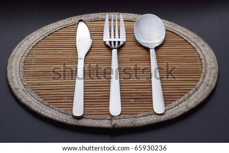 Knife, Fork, and Spoon