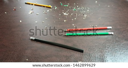 Knife sharpening pencils. Sharpen pencils. Sharpening pencils #1462899629