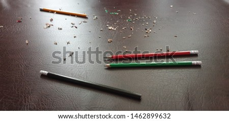 Knife sharpening pencils. Sharpen pencils. Sharpening pencils #1462899632