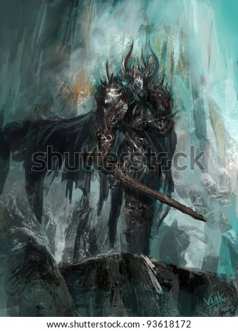 knight of  death ice and winter