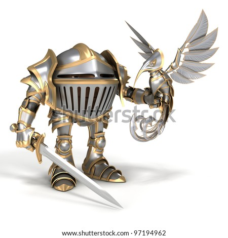 Knight with a steel bird