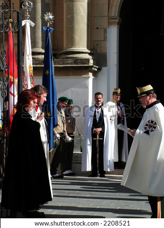 The United States of the Solar System, A.D. 2133 (Book Seven and the Seven Seals) - Page 37 Stock-photo-knighting-ceremony-th-november-military-teutonic-order-of-the-knights-of-st-john-malta-2208521