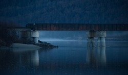 Knik Bridge, Palmer Alaska, Bridges