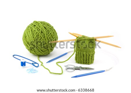 how to use a stitch holder in knitting