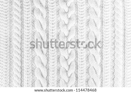 knitted fabric texture #114478468
