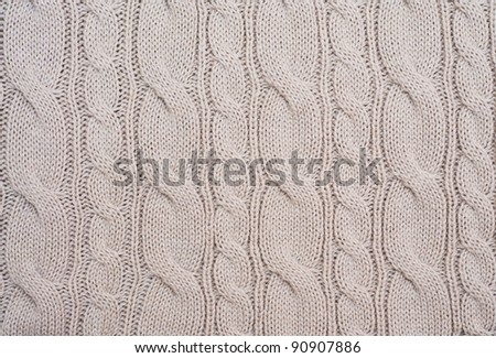 Knitted woolen background. Look through my portfolio to find more images of the same series