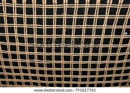 Knitting Rope Are Grid Pattern Ez Canvas