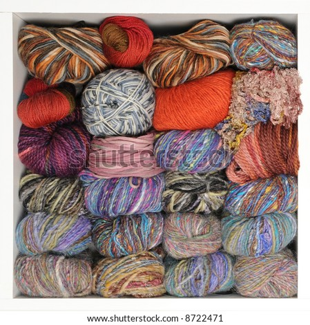 Knitting Yarn Stash