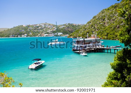 Knysna, Western Cape, South Africa - stock photo