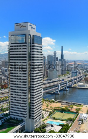 KOBE, JAPAN - JULY 14: In the wake of the 1995 Great Hanshin Earthquake, Kobe quickly emerged as a modern city with the presence of over 100 international corporations July 14, 2011 in Kobe, Japan.