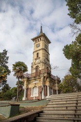 Kocaeli, Turkey. Historical clock tower of Izmit.