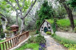 Kocaeli, Turkey - Hobbit house in Darıca.