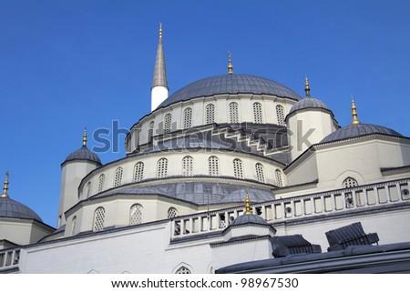 Kocatepe Mosque details, Ankara, Turkey