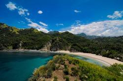 koka beach in flores east nusa tenggara