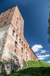Kolding, old holding castle on city hill
